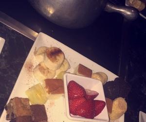 bananas, brownies, and chocolate image
