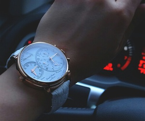 watch, car, and luxury image