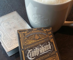cards, starbucks, and cardistry image
