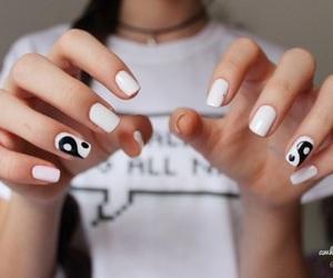 nails, tumblr, and black image