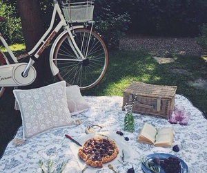 bike, cozy, and picnic image