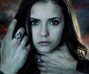 elena, the vampire diaries, and Nina Dobrev image