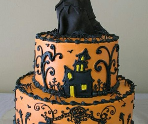 cake and Halloween image