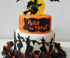 Halloween and cake image