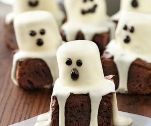 Halloween, food, and ghost image