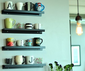 coffee cups, collection, and display image
