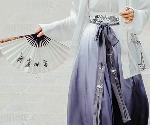 china, hanfu, and chinese dress image