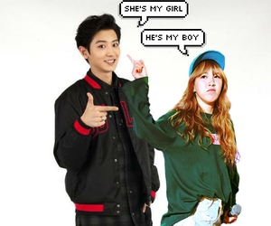 red velvet, wendy, and chanyeol image