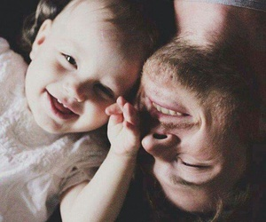 baby, family, and smile image
