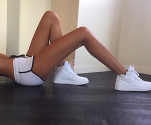 fit, shoes, and white image