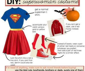 superman, diy, and Halloween image