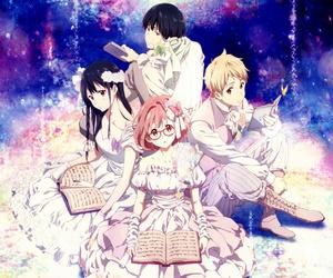 kyoukai no kanata and anime image
