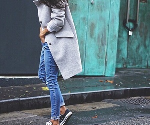 style, outfit, and jeans image