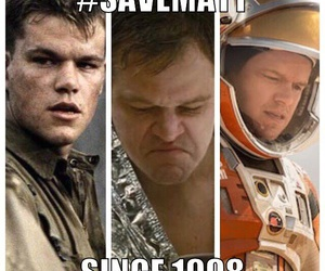 funny, matt damon, and money image