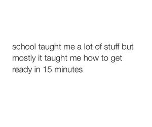quote and school image