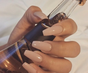 girl, nails, and beautiful color image