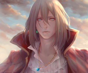 Howl, anime, and howls moving castle image