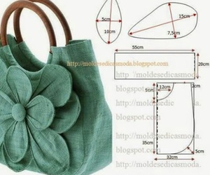 bags, craft, and diy image