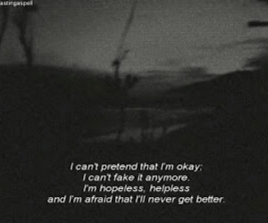 sad, quotes, and hopeless image