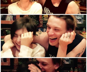 boyfriend, happy, and Jamie Campbell Bower image