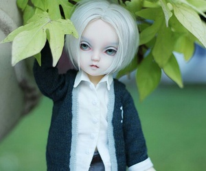bjd, doll, and boy image