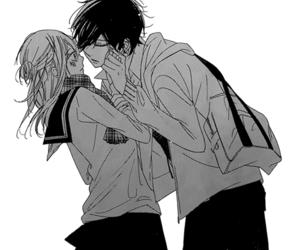 manga, boy, and girl image