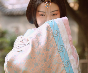 china, chinese dress, and pastel image