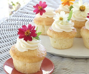 cupcakes, recipe, and spring image