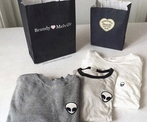 fashion, alien, and brandy melville image
