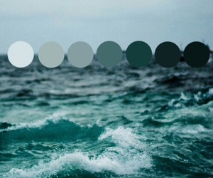 blue, wallpaper, and ocean image