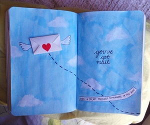 wreck this journal, art, and book image