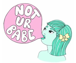 babe and feminist image