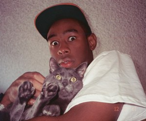 tyler the creator, cat, and tyler image