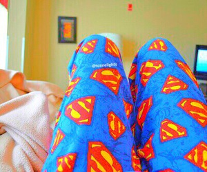 superman, cool, and pants image