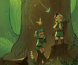 fairy, Legend of Zelda, and link image