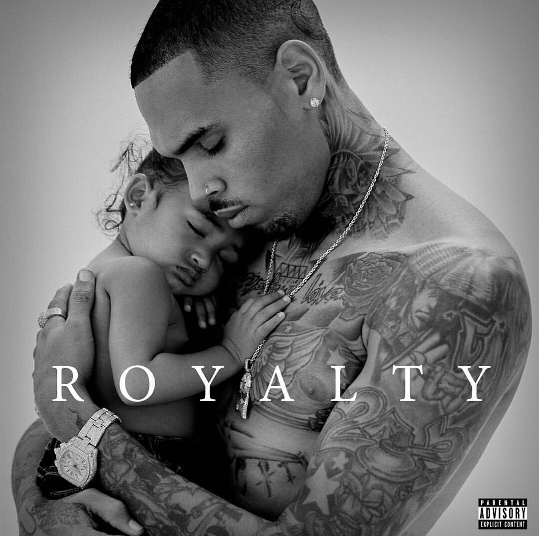 chris brown, royalty, and album image