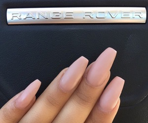 nails, car, and pink image