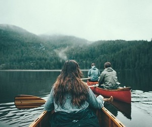 nature, mountains, and friends image