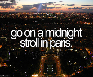 paris, before i die, and midnight image