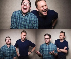 confused, happy, and tom hiddleston image
