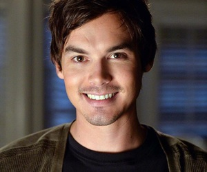 pll, pretty little liars, and tyler blackburn image