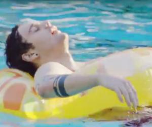 honey, pool, and hey everybody image