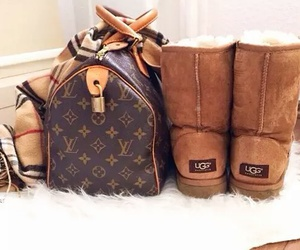 fashion, ugg, and bag image