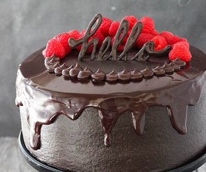 chocolate, cake, and delicious image