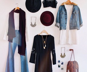 dress, fall, and style image