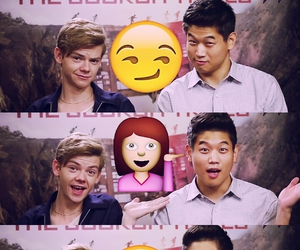 ki hong lee, minho, and newt image
