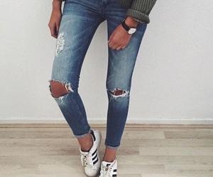 fashion, adidas, and girl image
