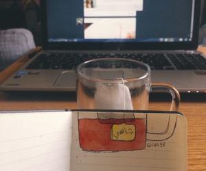 tea, شاي, and ﻋﺮﺑﻲ image