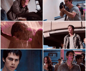 thomas, dylan o'brien, and teen wolf image