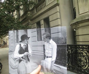 woody allen, annie hall, and diane keaton image